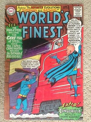 World's Finest Comics #151 (1965)  Silver Age! Batman/Superman! PRICED TO SELL!