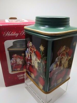 Holiday Portraits Coca-Cola Stoneware Canister