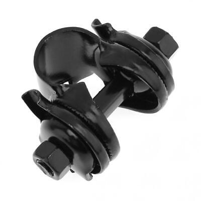 Black Bicycle Bike Saddle Seat Bolt Seatpost Post Clamp Mount Bracket 22.2mm