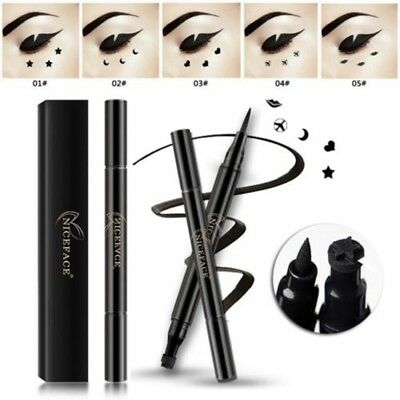 Eye Liquid Eyeliner Stamp Pencil Eye Liner Pen With Star Moon Heart Lip