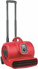 Sanitaire High Velocity Air Mover With Handle, 1/2 Hp, 3 Speed