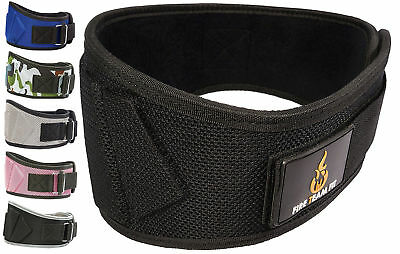 Fire Team Fit Weightlifting Belt, Olympic Lifting, For Men and Women, 6 Inches