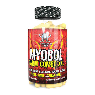 Warrior Labs MYOBOL SARM INCREASE MUSCLE MASS STRENGHT AND TESTOSTERONE BOOSTER