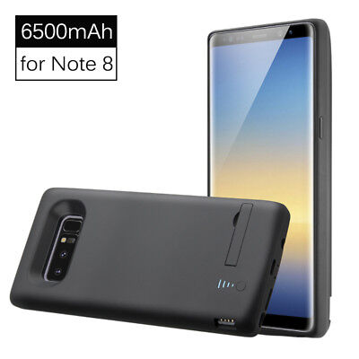 6500mAh Backup External Battery Charger Case Power Bank for Samsung Galaxy Note8