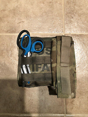 US Military SEKRI Multicam MOLLE IFAK Pouch W/Complete Insert +Extras