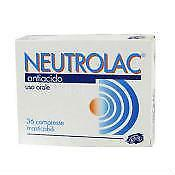 Neutrolac Compresse Masticabili 36 Compresse In Blister