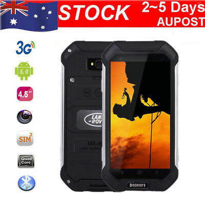 "4.5"" Discovery V19 Android 3G SmartPhone Duad Core Rugged Mobile Phone Dual SIM"