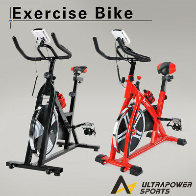 NEW Exercise Bike Fitness Home Gym Bicycle Flywheel Commercial Sporting LCD Spin