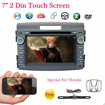 For Honda CRV 12-13 Windows 7'' Touch Screen GPS Mirror Link Car CD DVD Stereo