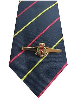 RAMC Royal Army Medical Corps Tie & Tie Clip Set e019