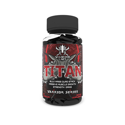 Warrior Labs TITAN RAPID GROWTH OF PURE MUSCLES IMPROVE STRENGHT AND ENDURANCE