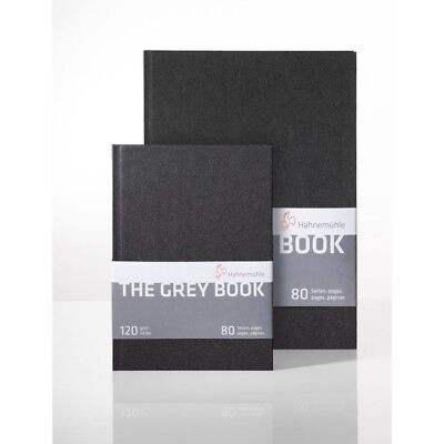 "Hahnemühle Skizzenbuch ""The Grey Book"" A5 120g"