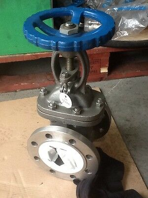 "Gate Valve 3"" Stainless Steel Flange"