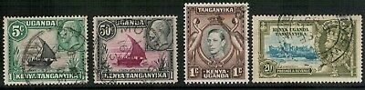 Lot 4349 - K.U.T. - 1935/38 KGV/KGVI Used stamp selection of 4