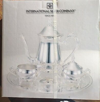 International Silver Company 4 pc Silverplated Coffee Service  ***4