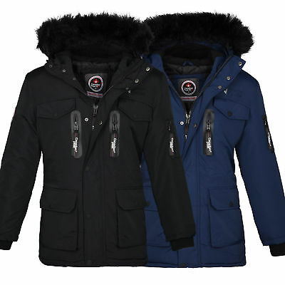 canadia peak geographical norway herren winter jacke parka errfahrung