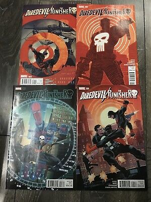 Daredevil Punisher 1 2 3 4 Seven Circles Complete Set NM by Soule Netflix