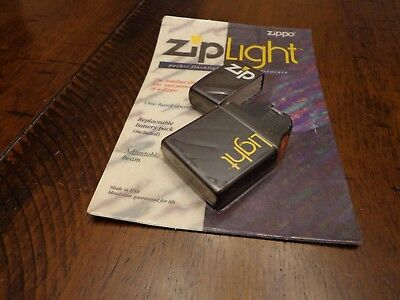 Zippo Ziplight  New In Package - Not Guaranteed To Work No Longer Made