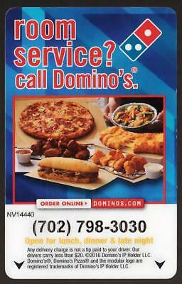 DOMINO'S pizza**LAS VEGAS-HENDERSON NEVADA** key card*A #4