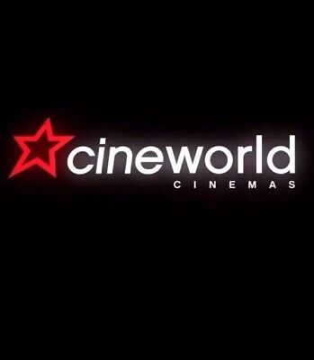 Cineworld Ticket Adult Or Child Code Delivered By Message Or Email