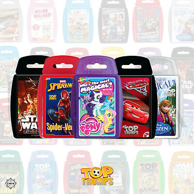 Top Trumps Cards Game - Top Trumps Rare: Marvel, Top Gear, Dr Who Trivia Cards