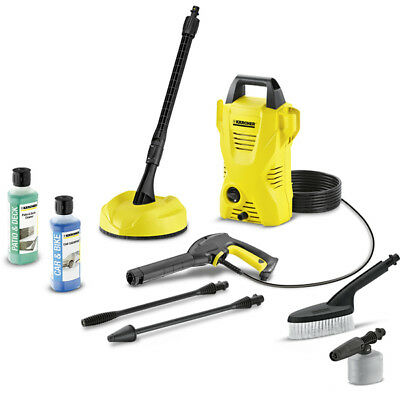 Karcher K2 Compact Home And Car Air-Cooled Pressure Washer with Jet Lance 1400w