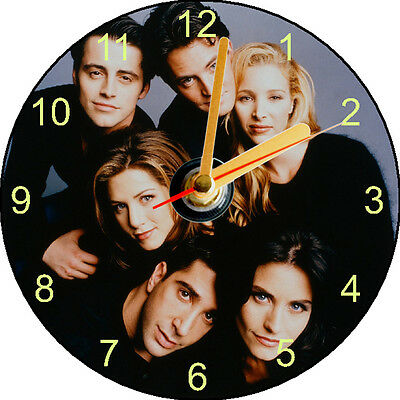 Cd Clock -  Friends - Can Be Personalised