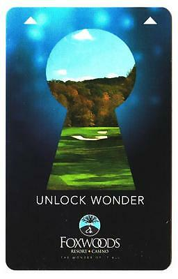FOXWOODS casino*Un-lock the Wonders style #5 hotel key card*Free FAST Shipping!