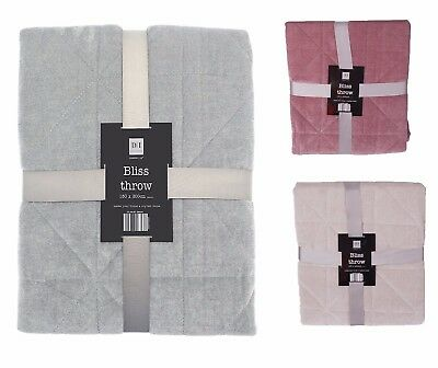 Luxury Bliss Throw, Soft Touch Large Bliss Sofa Bed Throws Home Decor