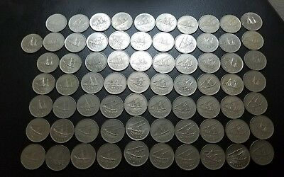 kuwait 100 fils lot of 71 coins