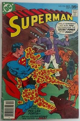 Superman - Issue # 318 - DC Comics - Dated December 1977 - VF (218)