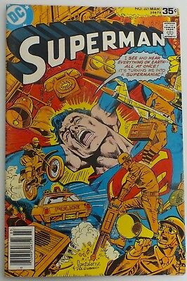 Superman - Issue # 321 - DC Comics - Dated March 1978 - VF (219)