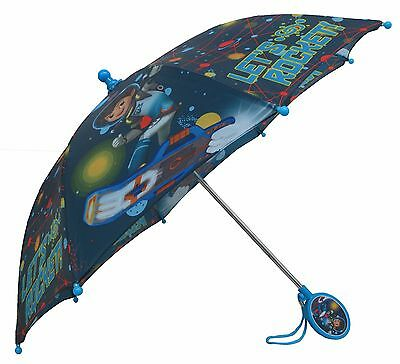 Disney Boys' Miles From Tomorrowland Boys Umbrella - 3D Handle - MER61744ST