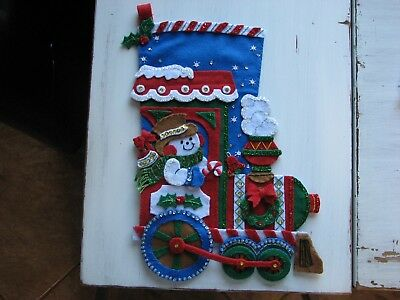 Handmade Bucilla Christmas Stocking