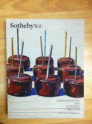 Sotheby's Contemporary Art Morning Auction New York November 2017