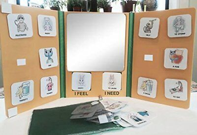 Feelings and Needs Mirror and Picture Card Kit