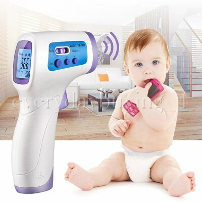 Non-Contact LCD Digital IR Forehead Ear Infrared Medical Baby Adult Thermometer