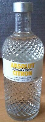 Absolut Vodka Citron Glimmer Limited Edition 750 ml