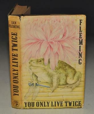IAN FLEMING You Only Live Twice. Jonathan Cape 1964 1st ed 2nd imp BOND Japan