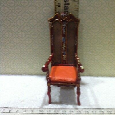 Dolls House Emporium 1:12th Scale Tall Hall Chair ... Item No 2247