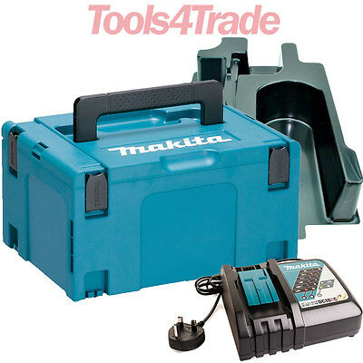 Makita 821551-8 Mak Case 3 With DC18RC Charger & Inlays For DSS610 Circular Saw