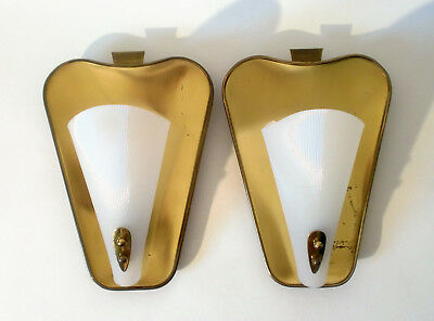 2x 50s Wand Lampe Kaiser sconce pair of mid mod wall lamp applique annees 50