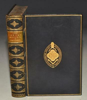 G. B. Malleson The Indian Mutiny of 1857 Full Dark Blue Leather Seeley 1894