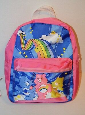 baby Gap Care Bears PINK  Backpack for School Play Daycare Travel
