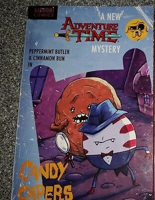 ADVENTURE TIME CANDY CAPERS TPB OTA, PANAGARIYA Kaboom! Comics Collects #1-6 T P
