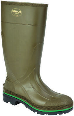 Servus Northerner 75120-8 Non-Insulated Knee Boot, NO 8, Men's, Olive Green, PVC