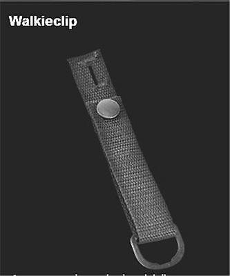 Epaulet Clip for Police Officers to hold a Walkie, Mic, Camera, Light to Uniform