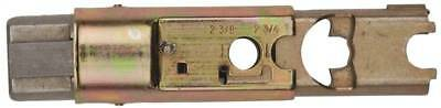Kwikset 81846-001 6-Way Adjustable Dead Latch Core, Steel, Antique Brass, For 1-