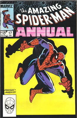 the Amazing Spider-Man Comic Book Annual #17 Marvel Comics 1983 VFN/NEAR MINT