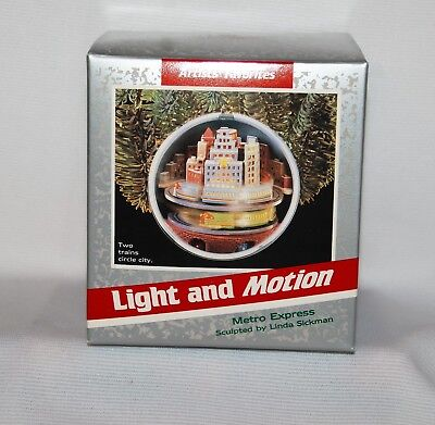Hallmark 1989 Metro Express Trains Circle City  Magic  Mint